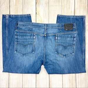 LEVIS Blue 569 Loose Fit Denim Jeans